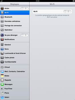 Apple iPad mini - E-mail - Configuration manuelle - Étape 3