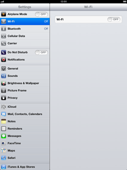 Apple iPad Retina - Mobile phone - Resetting to factory settings - Step 3