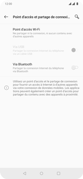 OnePlus 7 Pro - Internet et connexion - Utiliser le mode modem par USB - Étape 6
