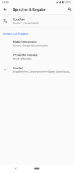 Sony Xperia 5 - Startanleitung - So fügen Sie eine Tastatursprache hinzu - Schritt 6