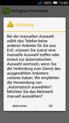 Alcatel Pop C7 - Netzwerk - manuelle Netzwerkwahl - Schritt 10