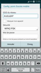 Samsung Galaxy A3 (A300FU) - Internet et connexion - Partager votre connexion en Wi-Fi - Étape 8