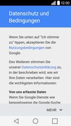 LG Leon 3G - Apps - Konto anlegen und einrichten - 12 / 20