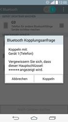 LG G3 - Bluetooth - Verbinden von Geräten - Schritt 8