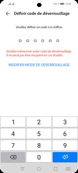 Huawei P Smart 2021 - Sécuriser votre mobile - Activer le code de verrouillage - Étape 5