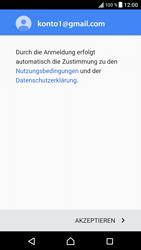 Sony Xperia XZ - Android Nougat - E-Mail - Konto einrichten (gmail) - Schritt 13