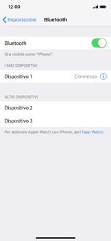 Apple iPhone XS - Bluetooth - Collegamento dei dispositivi - Fase 8