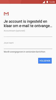 Nokia 6 - E-mail - Handmatig instellen - Stap 11