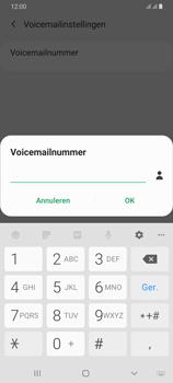 Samsung Galaxy A70 - voicemail - handmatig instellen - stap 10