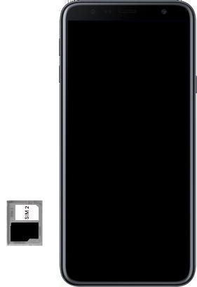Samsung Galaxy J4 Plus - Appareil - comment insérer une carte SIM - Étape 9