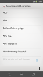 Sony Xperia Z1 - Internet - Manuelle Konfiguration - Schritt 14