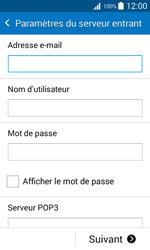 Samsung Galaxy Trend 2 Lite - E-mails - Ajouter ou modifier un compte e-mail - Étape 8