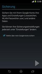 Sony Xperia Z1 - Apps - Konto anlegen und einrichten - Schritt 22