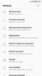 Samsung Galaxy A5 (2016) - Android Nougat - Applicazioni - Come disinstallare un