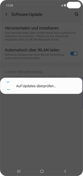 Samsung Galaxy S10 Plus - Software - Installieren von Software-Updates - Schritt 7