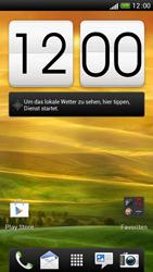 HTC One S - Startanleitung - Installieren von Widgets und Apps auf der Startseite - Schritt 1