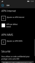 Acer Liquid M330 - Internet - Configuration manuelle - Étape 8
