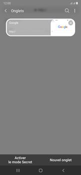 Samsung Galaxy Note20 Ultra 5G - Internet et connexion - Naviguer sur internet - Étape 19