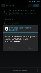 Alcatel One Touch Idol - Bluetooth - Jumelage d
