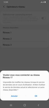 Samsung Galaxy S20 Ultra 5G - Réseau - Sélection manuelle du réseau - Étape 12