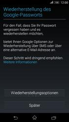 Sony Xperia E4G - Apps - Konto anlegen und einrichten - 11 / 18
