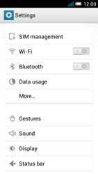 Alcatel One Touch Idol Mini - MMS - Manual configuration - Step 4