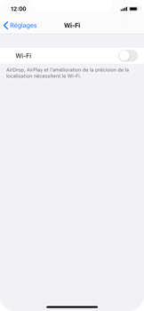 Apple iPhone 11 Pro - iOS 14 - WiFi - Configuration du WiFi - Étape 4