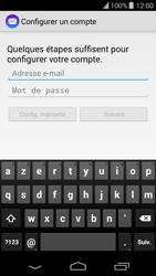 Wiko Highway Pure - E-mail - configuration manuelle - Étape 4