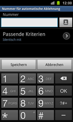 Samsung Galaxy Ace 2 - Anrufe - Anrufe blockieren - 8 / 13