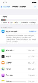 Apple iPhone XS - iOS 14 - Apps - Eine App deinstallieren - Schritt 5