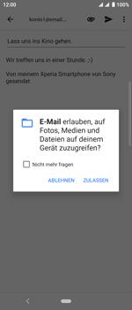 Sony Xperia 10 - E-Mail - E-Mail versenden - Schritt 11