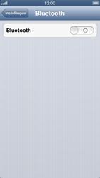 Apple iPhone 5 - Bluetooth - Aanzetten - Stap 3