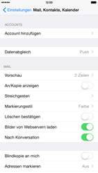 Apple iPhone 6 Plus - iOS 8 - E-Mail - Manuelle Konfiguration - Schritt 4