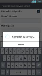 LG P875 Optimus F5 - E-mail - Configurer l