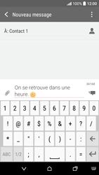 HTC Desire 530 - Contact, Appels, SMS/MMS - Envoyer un SMS - Étape 10