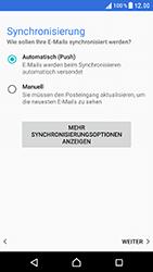 Sony Xperia XZ - E-Mail - Konto einrichten - 20 / 25
