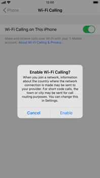 Apple iPhone 6s Plus - iOS 13 - WiFi - Enable WiFi Calling - Step 7