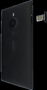 Nokia Lumia 1520 - SIM-Karte - Einlegen - Schritt 8