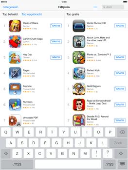 Apple iPad 4th generation (Retina) met iOS 7 - Applicaties - Downloaden - Stap 10