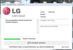 LG KP500 Cookie - Software - Update - Schritt 4