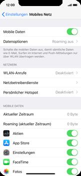 Apple iPhone X - Internet - Mobile Daten ausschalten - 5 / 6