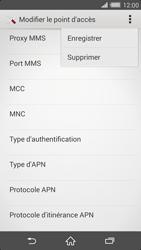 Sony Xperia Z2 - Internet et roaming de données - Configuration manuelle - Étape 15