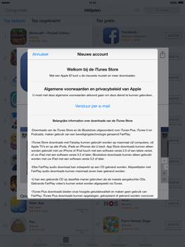 Apple iPad 2 iOS 8 - Applicaties - Account aanmaken - Stap 9