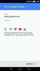 Huawei Nova - Apps - Konto anlegen und einrichten - 2 / 2