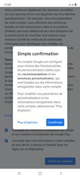 Samsung Galaxy A51 - Applications - Créer un compte - Étape 17