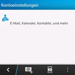 BlackBerry Q10 - E-Mail - Konto einrichten - Schritt 17