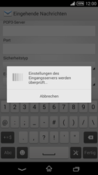 Sony D5103 Xperia T3 - E-Mail - Konto einrichten - Schritt 11