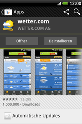 HTC Wildfire S - Apps - Herunterladen - 15 / 22