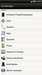 HTC One X - Anrufe - Rufumleitungen setzen und löschen - 4 / 10