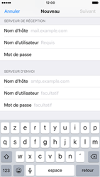Apple iPhone 7 - E-mail - Configuration manuelle - Étape 14